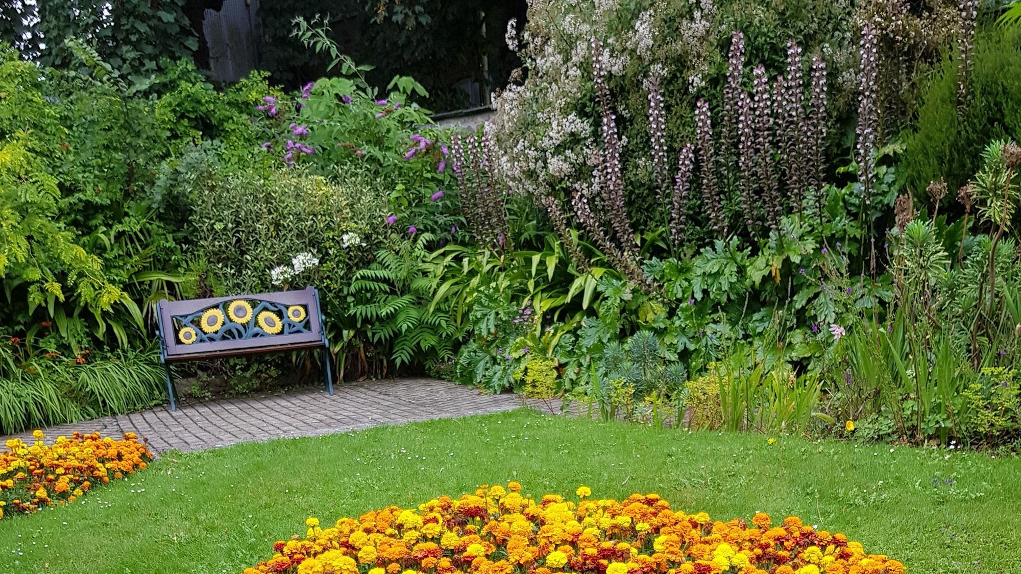 De Saaie Tuin: de vraagteken-tuin van Laura