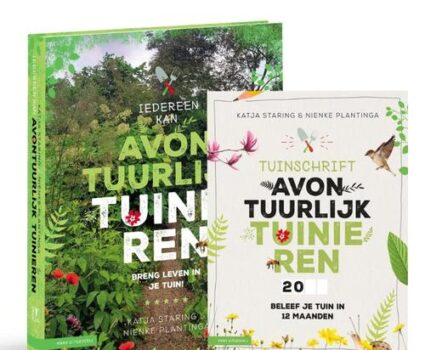 Actie: basisboek + gratis tuinschrift